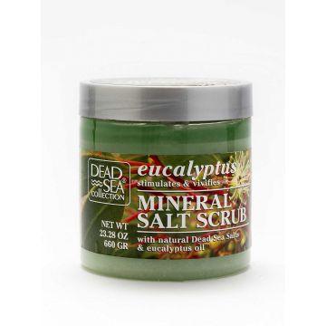 Скраб для тела с маслом эвкалипта и минералами Мертвого моря