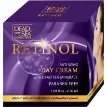 Дневной крем против старения с ретинолом и минералами Мертвого моря