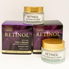 Набор для лица против старения с ретинолом и минералами Мертвого моря