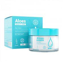 Увлажняющий дневной крем с гиалуроновой кислотой DuoLife Beauty Care Aloes Day Cream