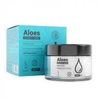 Ночной увлажняющий крем для лица с гиалуруновой кислотой DuoLife Aloes Beauty Care Night Cream