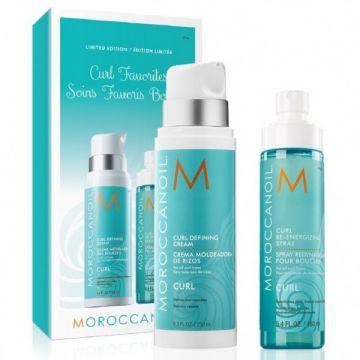 Набор для волос - Фавориты для кудрей Moroccanoil