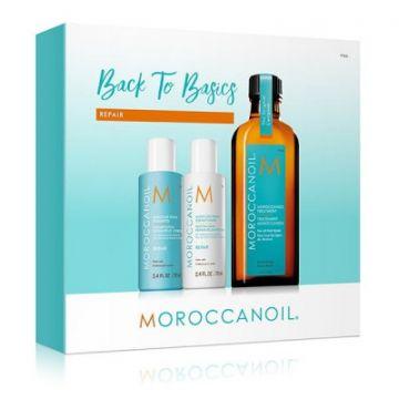 Набор восстановление MoroccanOil Holiday Mini Kit Moroccanoil 100 мл + 70 мл + 70 мл