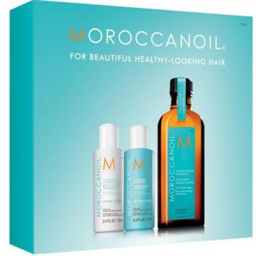 Набор увлажнение MoroccanOil Holiday Mini Kit Hydration