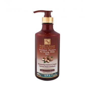 Шампунь для здоровья и блеска волос с маслом Араган (780мл)