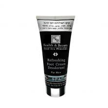 Освежающий крем-дезодорант для ног для мужчин