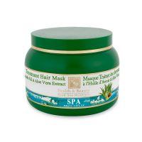 Оздоравливающая маска для волос с маслом авокадо и алоэ