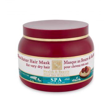 Маска для очень сухих волос на основе масла Ши