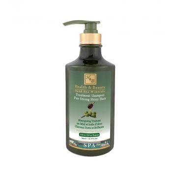 Шампунь для волос с добавлением оливкового масла и меда (780мл)
