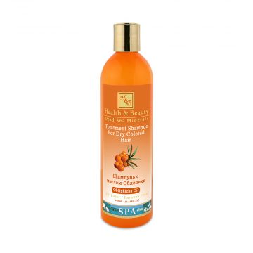 Шампунь для сухих окрашенных волос с маслом облепихи (400мл)