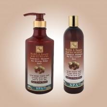 Шампунь для здоровья и блеска волос с маслом Араган (400мл)