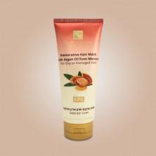 Восстанавливающая маска для волос с маслом Марокканской Aрганы для сухих и поврежденных волос