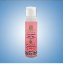 Очищающий и расслабляющий мусс для лица