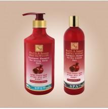 Укрепляющий шампунь для здоровья и блеска волос с экстрактом граната (780мл)